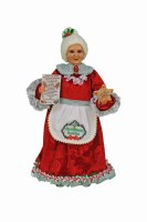 "16"" Mrs Claus Figurine"