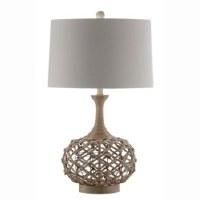 "31"" Jute Wire Vase Table Lamp"