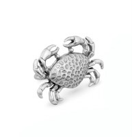 "2.75"" Silver Crab Napkin Ring"