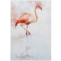"36"" x 24"" Flamingo Canvas"