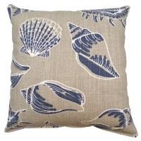 """17"""" Square Cello Beach Treasure Pillow"""