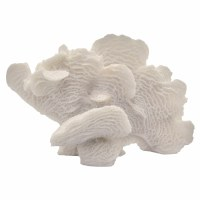 """5"""" White Faux Coral"""