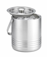 """7"""" Stainless Steel Double Wall Ice Bucket"""