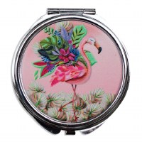 "4"" Flamingo Pill Box"