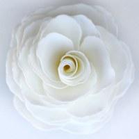 """5"""" x 3"""" Graceful Day Gardenia Soap Flower"""