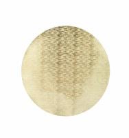 """15"""" Round Bronze Metallic Placement"""