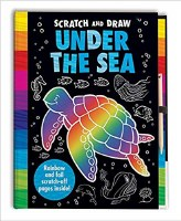 Scratch and Draw Under The Sea Book