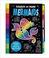 Scratch and Draw Mermaid Book