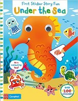 Under Sea Sticker Story Fun Book