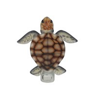 "5"" Turtle Capiz Night Light"