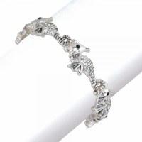 Silver Toned Seahorse Bracelet