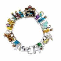 Multicolored Nativity Bracelet