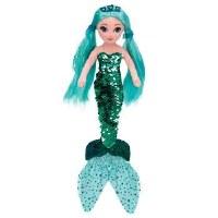 "17"" Medium Flippable Waverly Teal Mermaid"