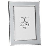 "4"" x 6"" Gray and Silver Picture Frame"