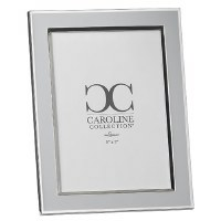"5"" x 7"" Gray and Silver Picture Frame"