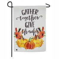 "18"" x 12"" Gather Together Garden Flag"
