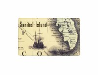 Sanibel Map Magnet