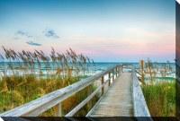 """38"""" x 60"""" Beach Access Canvas"""