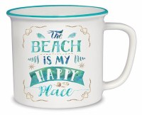 14 Oz Beach Is My Happy Place Mug