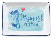 """3.5"""" x 5"""" Mermaid Heart Tray"""