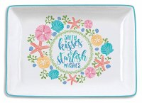 "3.5"" x 5"" Salty Kisses Tray"