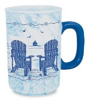 18 Oz Blue Chairs Mug