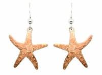 Natural Starfish Earrings