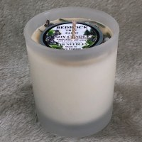 2 Oz Bayberry Fir Needle Votive Glass Candle