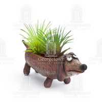 "6"" Baby Dobby The Dachshund Planter"