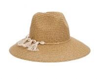 "4"" Toast Safari Hat With Shells"
