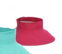 "4.5"" Fuchsia Roll Up Visor"