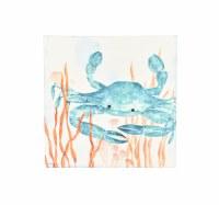 """24"""" Square Blue Crab Canvas"""