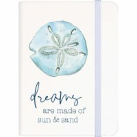 "6"" Dreams Are Made Of Sand & Sun Journal"