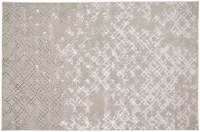5' x 8' Beige and Silver Micah 3047F