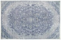 4' x 6' Blue and Turquoise Cecily Rug 3572F