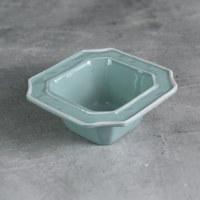 "5"" Square Blue and White Charleston Bowl"
