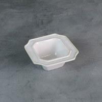 """5"""" Square White Charleston Bowl"""