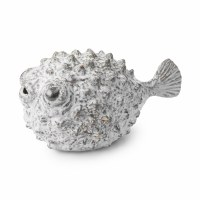 """9"""" Gray Puffer Fish"""