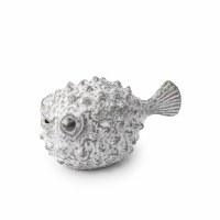 """7"""" Gray Puffer Fish"""