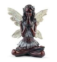 "12"" Bronze Meditation Fairy"