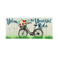 """10"""" x 22"""" Wonderful Ride Sassafras Doormat"""
