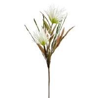 """37"""" White Fringe Flower"""