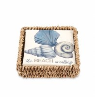 Beach Is Calling Beverage Napkin With Holder