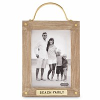 "5"" x 7"" Beach Family Picture Frame"