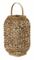 "16"" Natural Wicker Lantern"