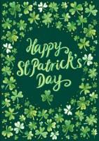 "40"" x 28"" Happy St. Patrick's Day Garden Flag"