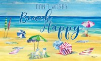 "18"" x 30"" Beach Happy Doormat"