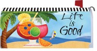 "6.5"" x 17"" Life Is Good Mailbox Cover"