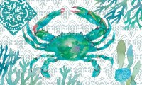 "18"" x 30"" Green Crab Doormat"
