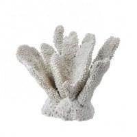 "7"" White Faux Polystone Coral"